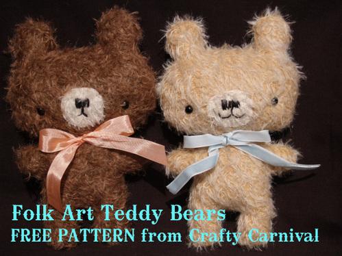 teddybear tuto